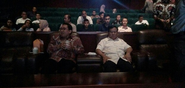 Beri Nilai 99,9, Prabowo Minta Kader Gerindra Nobar Film '212 The Power of Love'