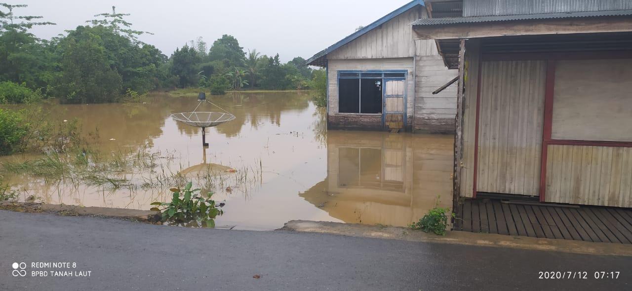 Ribuan Rumah Terendam Banjir di Kalimantan Selatan