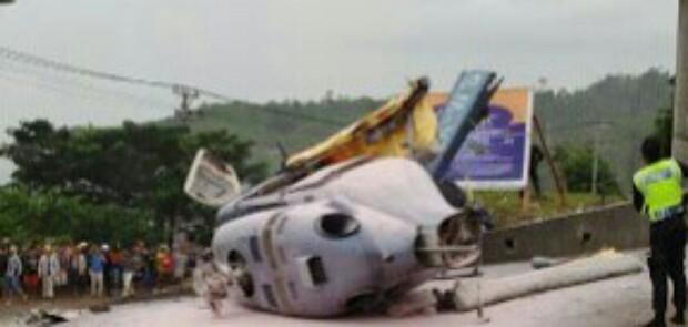 Angkut 6 WN China, Helikopter PT IMIP Jatuh di Morowali