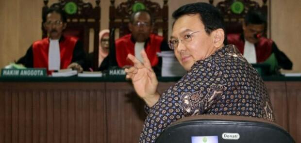 3 Hakim Agung MA Sepakat Tolak PK Ahok