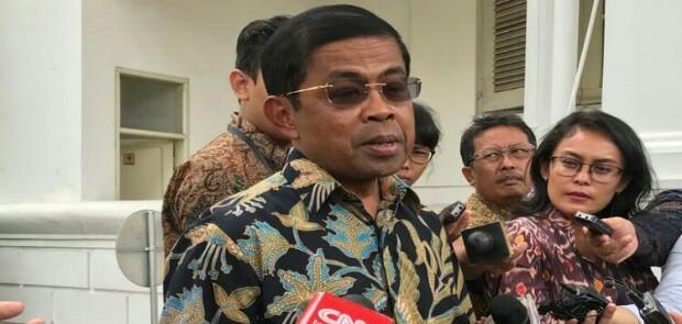 Jadi Tersangka Kasus PLTU, Menteri Sosial Idrus Marham Mundur