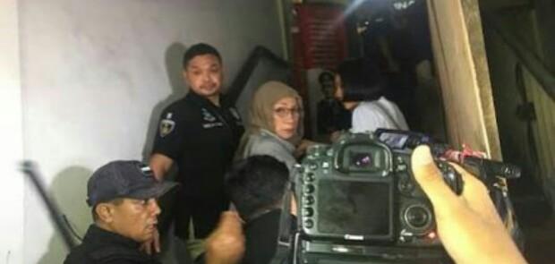Rumah Ratna Sarumpaet Digeledah Polisi