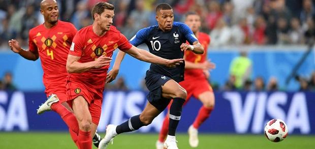 Kalahkan Belgia, Perancis Masuk Final Piala Dunia 2018