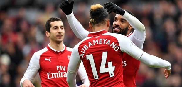 Aubameyang Catat Rekor Gol Terbaru Bagi Arsenal