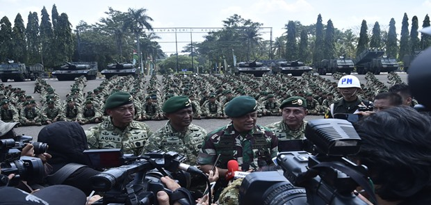 Gatot Nurmantyo: Mutasi Jabatan 85 Pati Sudah Melalui Prosedur Wanjakti TNI