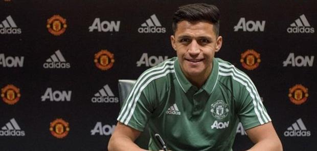 Resmi Berkostum United, Sanchez Cetak Rekor Pemain Bergaji Termahal di Liga Primer