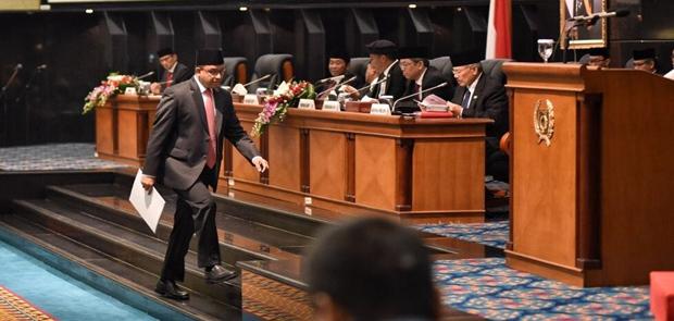 Anies Yakin Pertumbuhan Ekonomi Jakarta 2018 Tumbuh 6,52 persen