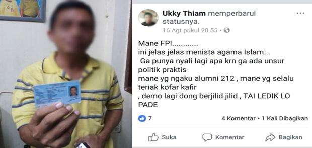 Bukan Delik Aduan Polisi Pulangkan Pelaku Penghina Habib Rizieq