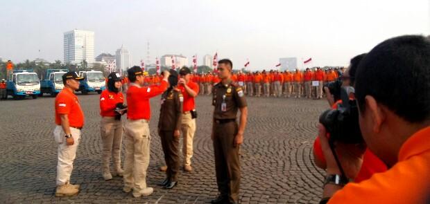 Sukseskan Asian Games, Satpol PP DKI Kerahkan 2.880 Personel untuk Pengamanan