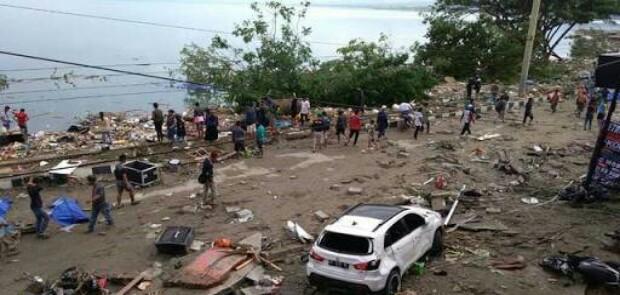 Data Sementara, 48 Korban Tewas di Palu Akibat Gempa dan Tsunami