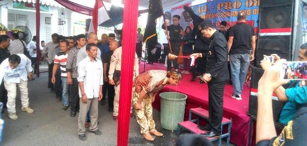 Markas Dibeli Relawan Jokowi, GL Pro 08 Resmikan Markas Baru