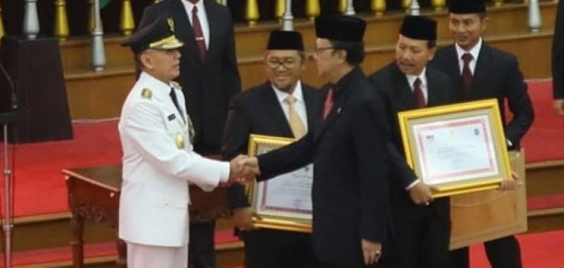 Mantan Kapolda Metro Jaya Dilantik Jadi Pejabat Gubernur Jabar