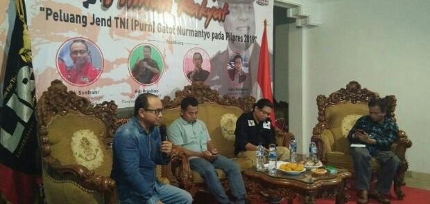 Gatot Nurmantyo Berpotensi Menangi Pilpres 2019