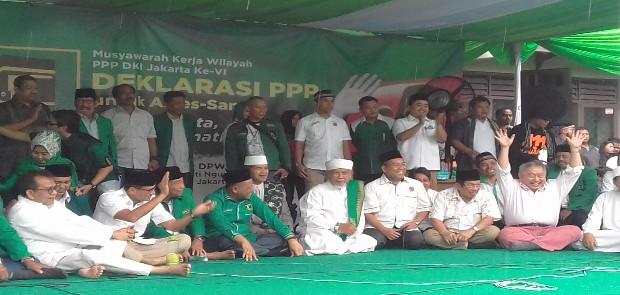 Lewat Mukerwil, DPW PPP DKI Putuskan Dukung Anies -Sandi