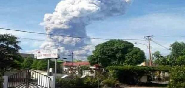 Pemkab Minahasa Tenggara Tetapkan Siaga I Letusan Gunung Soputan