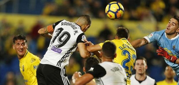 Valencia Ditumbangkan Las Palmas