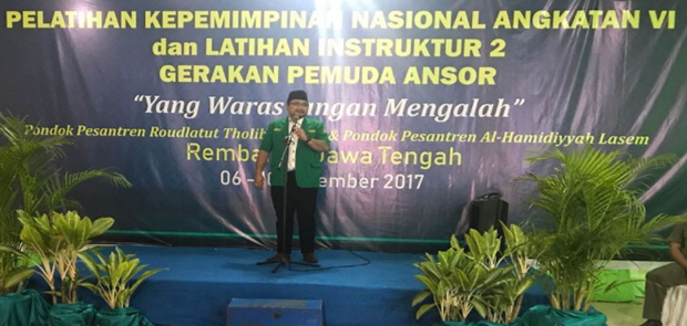 Ketua Umum GP Ansor: Yang Waras Jangan Mengalah