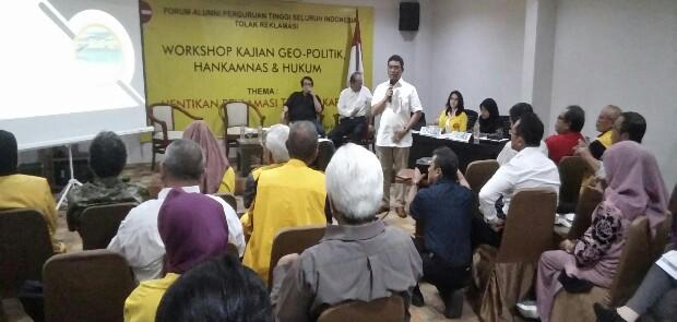 Proyek Reklamasi Bikin Indonesia Rawan Disabotase