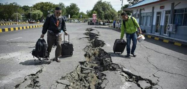 Dini Hari Tadi Palu Digoyang Gempa 4,7 SR