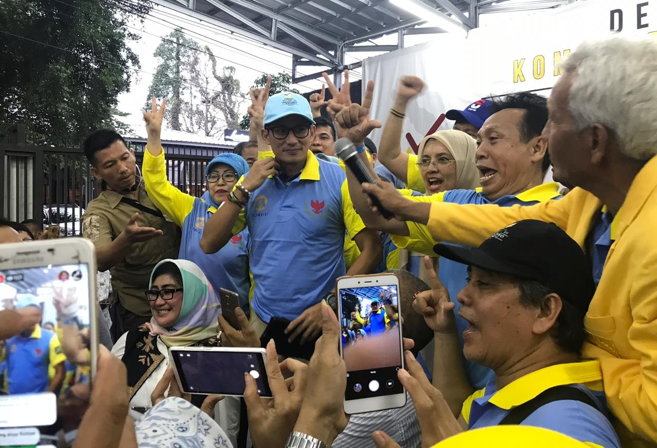 Komunitas UI Dukung Pasangan Capres dan Cawapres , Prabowo-Sandi