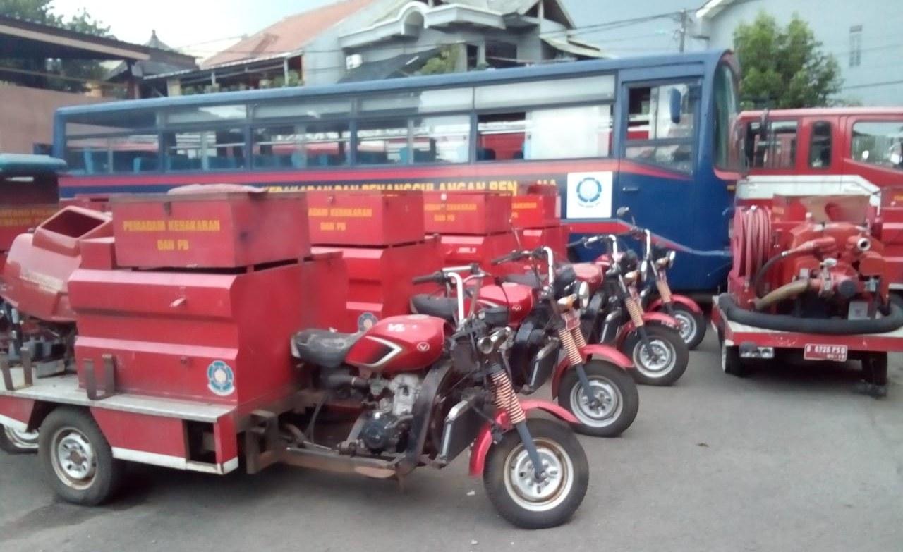 Fire motor 60 Unit Mangkrak dari 110 yang ada