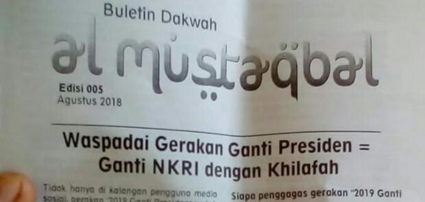 Parah! Gerakan #2019GantiPresiden Difitnah Mau Ganti NKRI dengan Khilafah