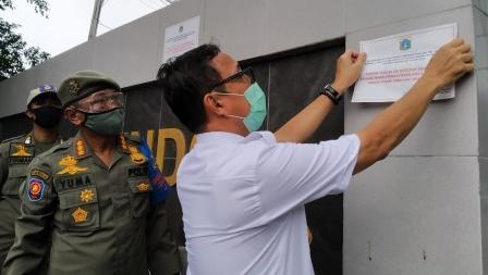 Pemkot Jakarta Utara Tindak 143 Perusahaan Pelanggar Aturan PSBB