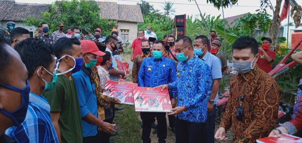 Jalur Aspirasi Wakil Rakyat, Poktan di 5 Kecamatan Mendapat Traktor