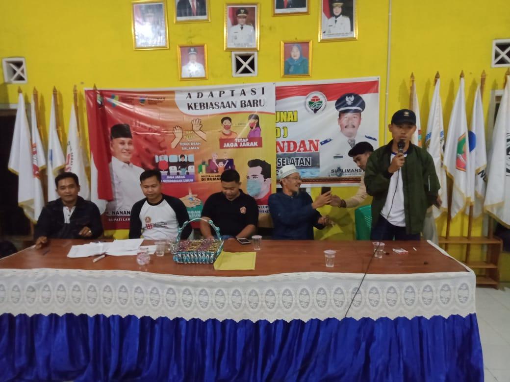 Pemilihan Ketua Karang Taruna Desa negeri pandan periode. 2020-2023.