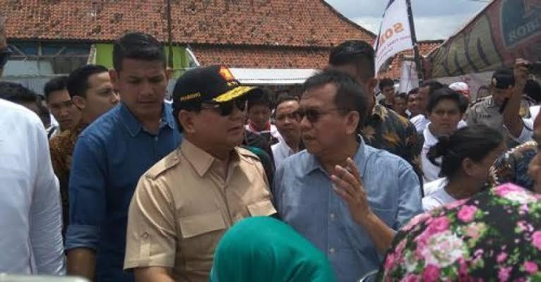 Prabowo Kembali Percayakan Kursi Wakil Ketua DPRD DKI Pada M. Taufik