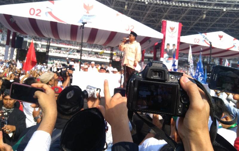 Prabowo Minta Pendukungnya Jadikan 17 April Sebagai Lebaran Ketiga
