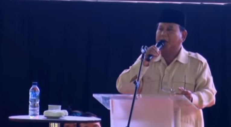 Prabowo Hadiri Ijtima Ulama III