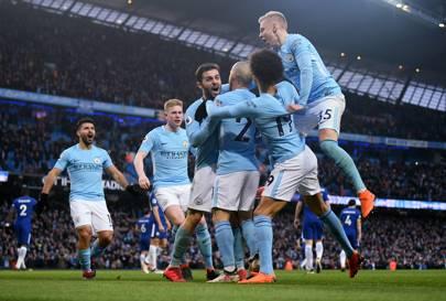 Liga Champion, 10 Pemain ManCity Sukses Meredam Schalke 3-2