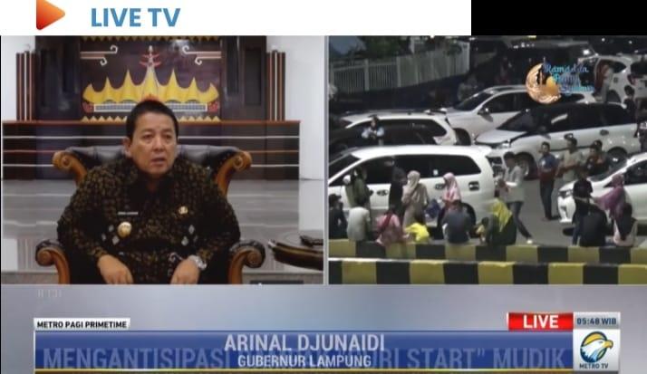 Pemerintah Provinsi Lampung Lakukan Langkah Antisipasi Bagi Pemudik Yang Curi Start*