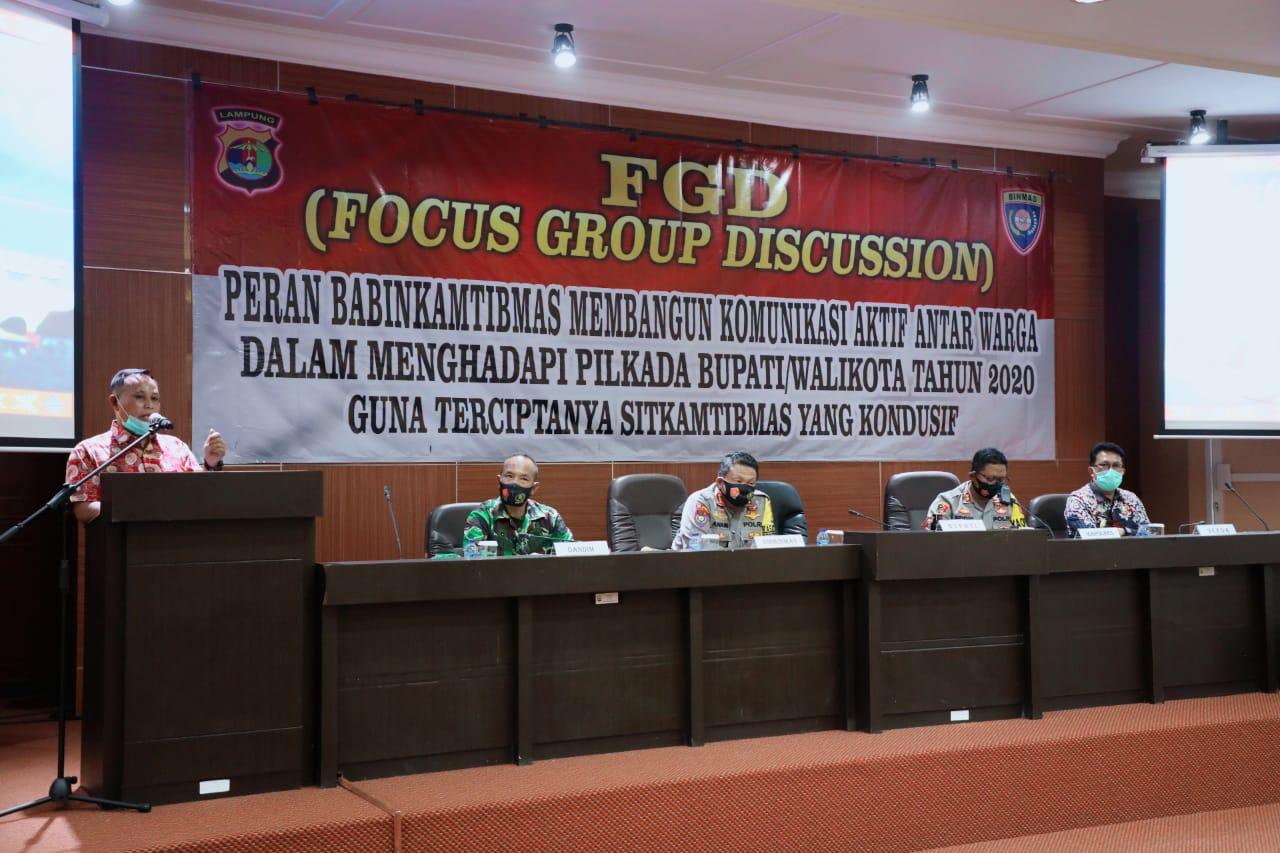 Nanang Apresiasi Polda Lampung Bentuk Kampung Tangguh Lawan COVID-19