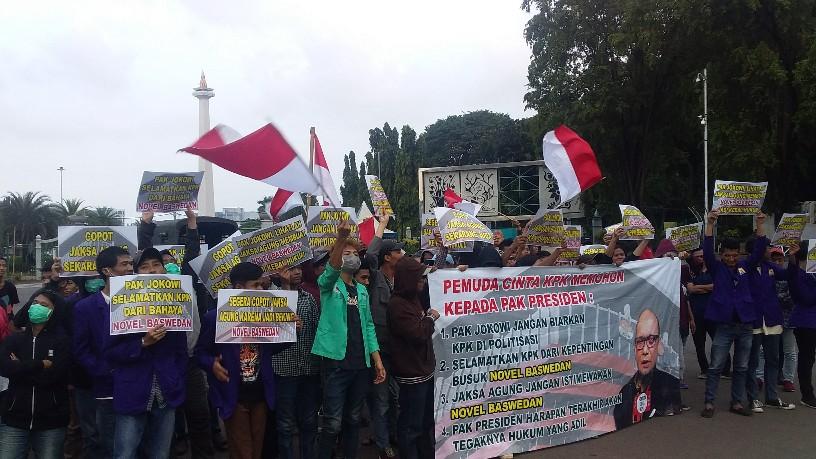 PECI KPK Desak Jokowi Selamatkan KPK Dari Oknum Perusak
