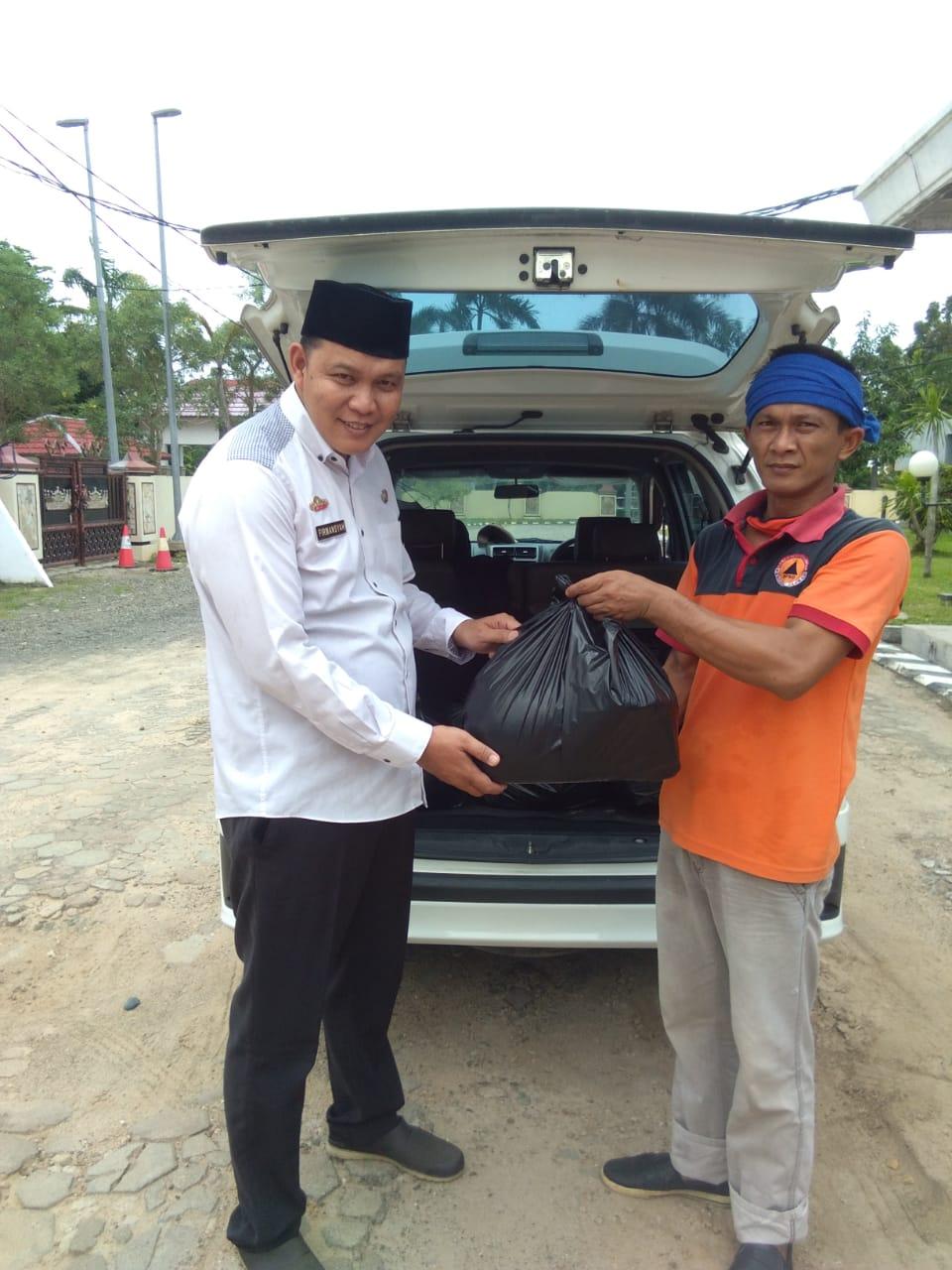 Pemkab Lampung Selatan Bantu 19 Warga Tanjung Bintang Yang Sedang Isolasi Mandiri