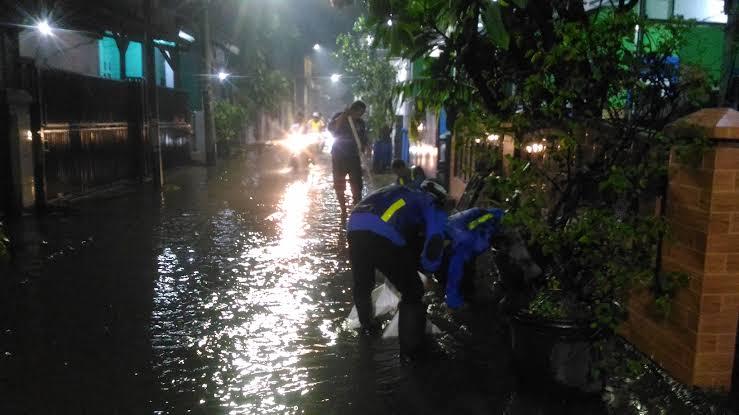 Banjir di Ibukota Mulai Surut, Sisakan Satu Titik di Kelurahan Semanan
