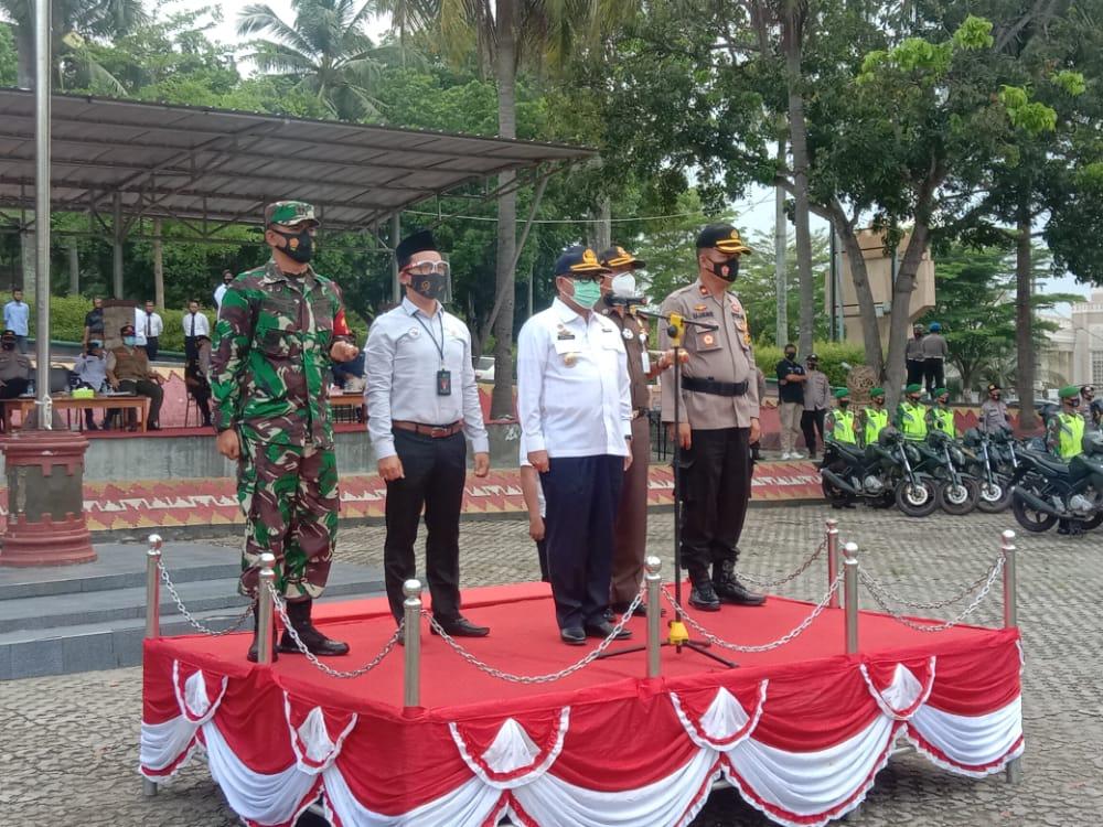 Polres Lampung Selatan Gelar Apel Bersama Kesiapan Penanggulangan Bencana Alam