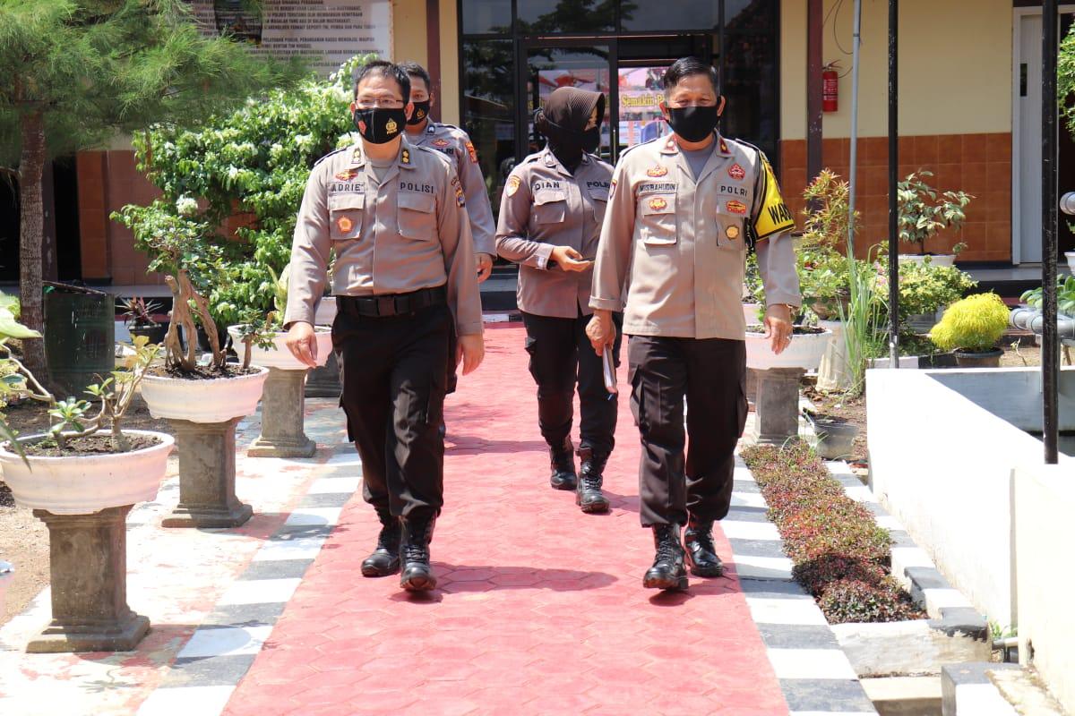 Kabag RBP Kunjungi Kapolres Pringsewu