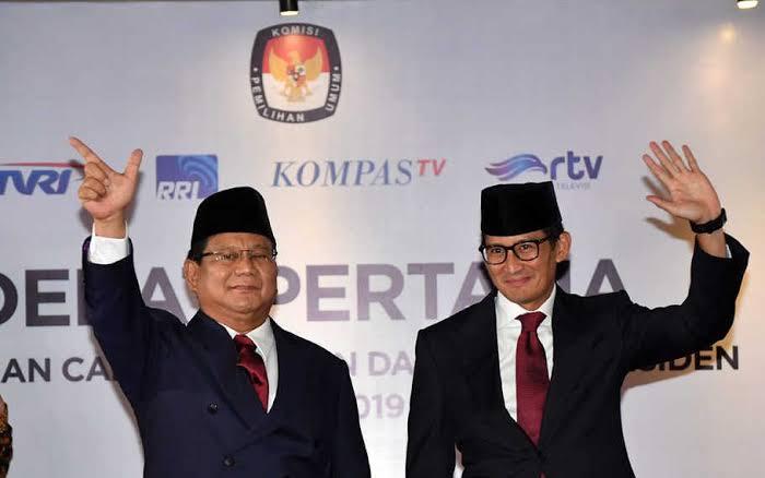 Tak Perlu Demo ke MK, Prabowo-Sandi minta Pendukungnya Percayakan Pada Proses Hukum