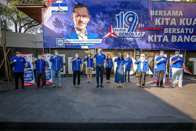 Pasang Badan Untuk AHY, Kader Mercy se-Jakarta Siap Lawan Pengkhianat