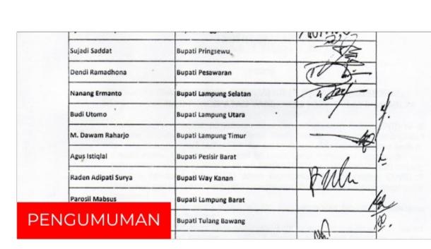 Gubernur, Bupati/Walikota Se-Provinsi Lampung Sepakat Salat Idul Fitri 1442 Hijriah Dilaksanakan di Rumah