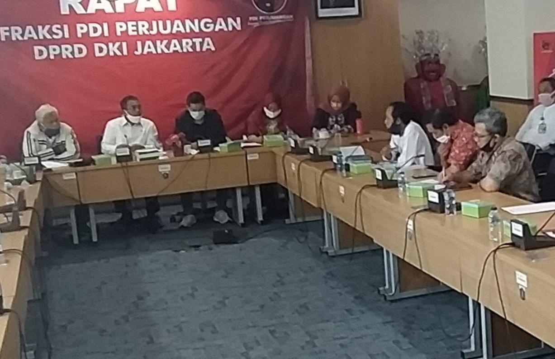 Direksi Jakpro Dimarahi Fraksi PDIP Karena Komersialkan RTH