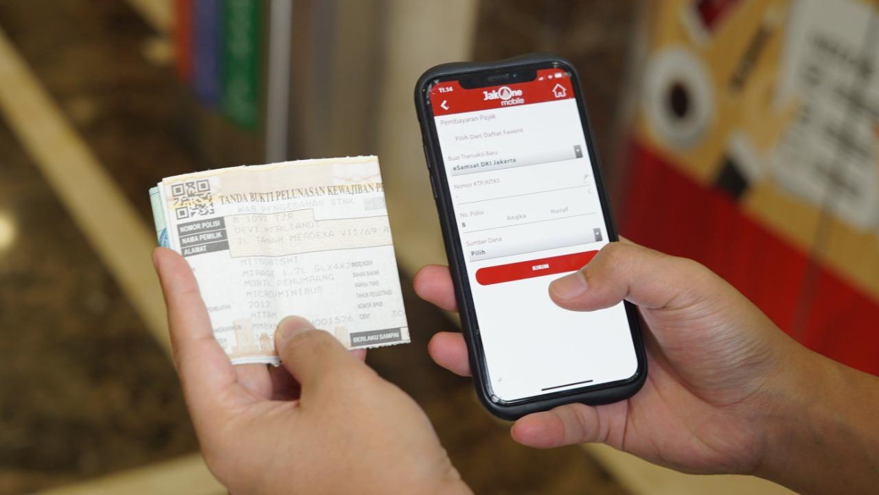 Terapkan Protokol Kesehatan, Bank DKI Himbau Pembayaran PKB Secara Non Tunai