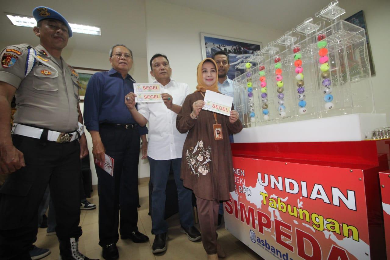 Bank DKI Jadi Tuan Rumah Undian Nasional Tabungan Simpeda