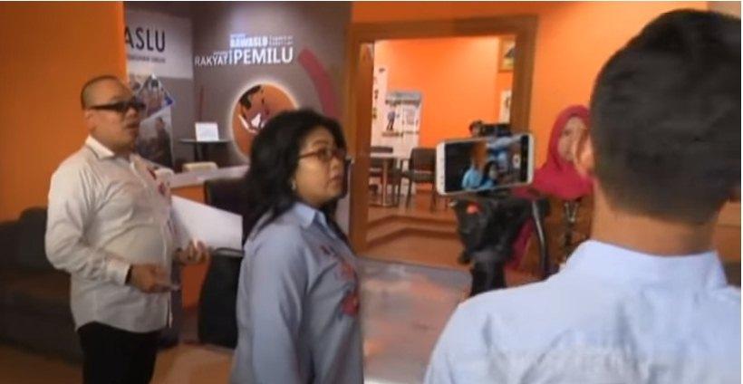 Relawan Prabowo Melaporkan Kesalahan Memasukan Data sebanyak 73.715 ke Bawaslu