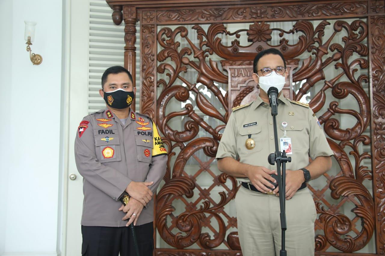Gubernur dan Kapolda Metro Jaya, Kompak Jaga Stabilitas Jakarta