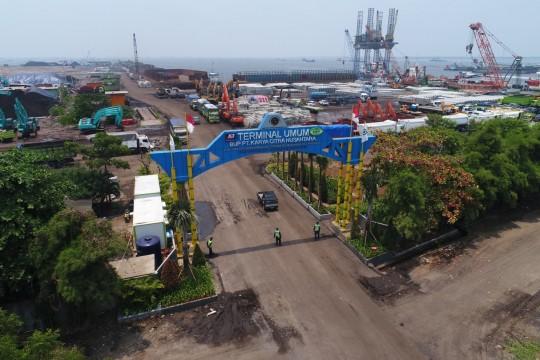 Menkumham Berharap Penyelesaian Pembangunan Pelabuhan Marunda Dilanjutkan