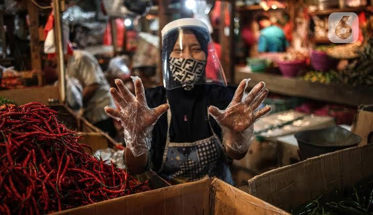 Pasar Jaya Sebar 80 Ribu Pelindung Muka Untuk Pedagang